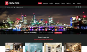 Residencia - Estate Agents Website Template
